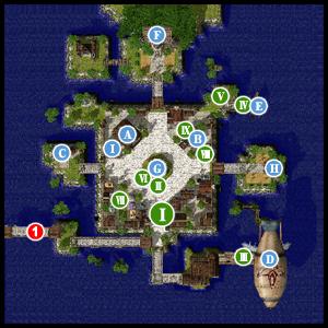 衛星都市 イズルード(ルーンミッドガッツ王国・街) | ワールドマップ ...