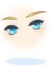 ジェミニ-S58の目(青)[0]